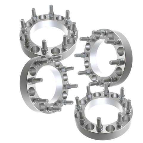 "4 PCS 1.50"" 8x6.5 to 8x170 Wheel Spacers Adapters for Ford F250 F350 Super Duty Excursion Truck 14x1.5 Studs"