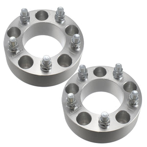 "2pc 2.0"" Jeep Hubcentric Wheel Spacers 5x5 for Grand Cherokee Commander Wrangler XK JK WK 5x127"