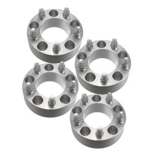 "4pcs 2"" Toyota 5x150 to 5x150 Wheel Spacers Adapters 14x1.5 Studs for 5 Lug Tundra 2007-2016 Billet Aluminum 6061 T6"