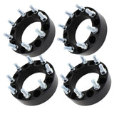 "2"" 8x170 Black Wheel Spacers 
