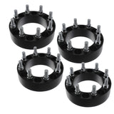 "2"" 8x6.5 to 8x180 Black Wheel Adapters 