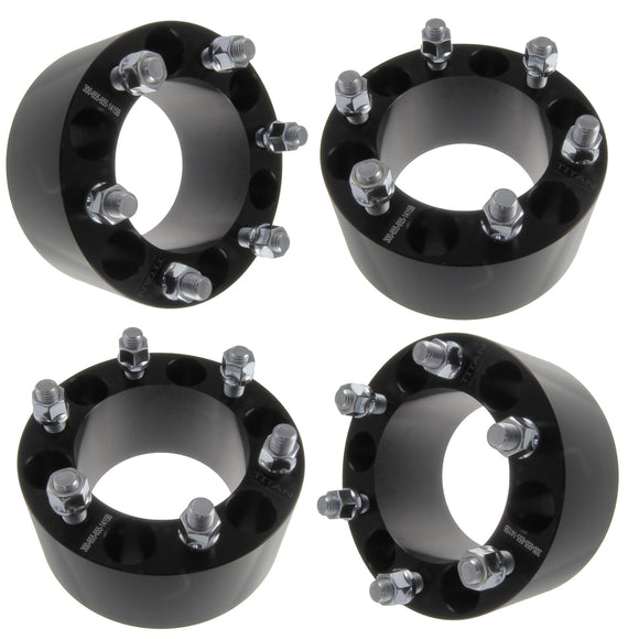 """4x 1.25/"""" 5x5 to 5x4.5 Hubcentric Wheel Adapter for Jeep JK to Old Wheels TJ YJ"""