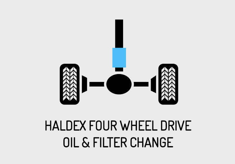 Haldex four wheel drive oil and filter changes  The forgotten oil