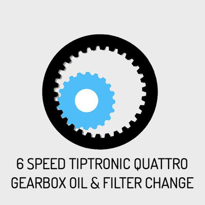 Gearbox Oil Change for Audi 6 Speed Tiptronic Quattro Models
