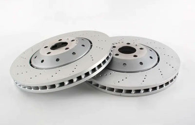 Audi RS4 Rear Brake Discs and Pads Replacement [AUDI RS4 V8 FSI 32V B8 2012-2015]