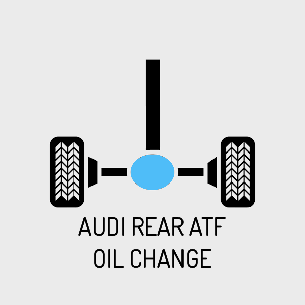 Audi Rear ATF Fluid Change - For Quattro Models