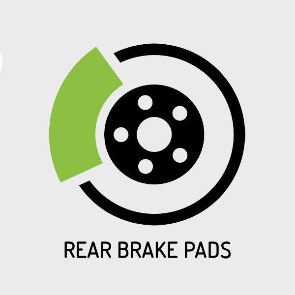 C63 AMG (W204) 2008-2015 - 6,208cc | Rear Brake Pads Replacement