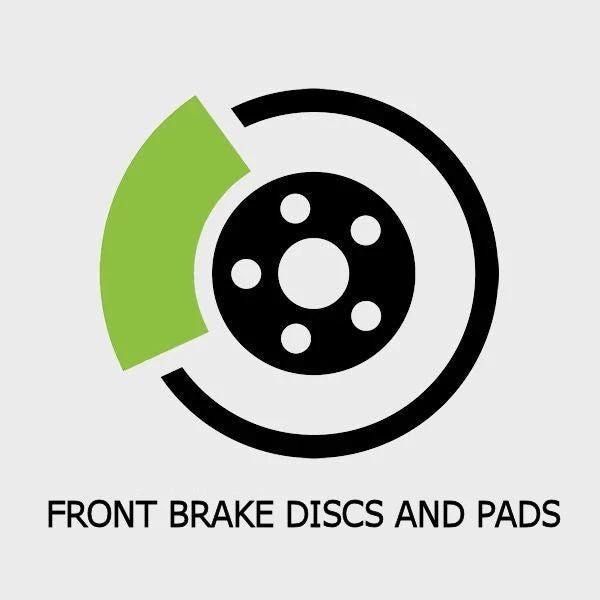 C63 AMG | W205 4.0 V8 BI-TURBO Front Brake Disc and Pads Replacement