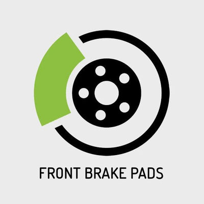 BMW 5 SERIES - F07, F10, F11, F18 [2010-2016] Front Brake Pads Replacement