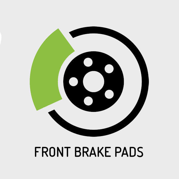 C63 AMG (W204) 2008-2015 - 6,208cc | Front Brake Pads Replacement