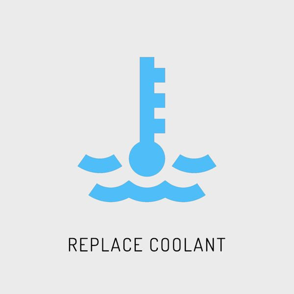 F22, F23 - Replace Coolant