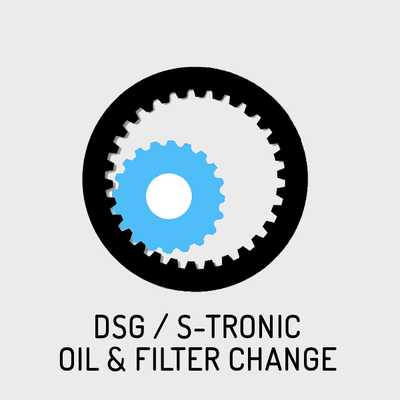 DSG / S-tronic Gearbox Oil & Filter Change for 6 Speed Hybrid Golf/Passat GTE and Audi A3 e-tron