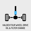 Haldex Four Wheel Drive Oil & Filter Change