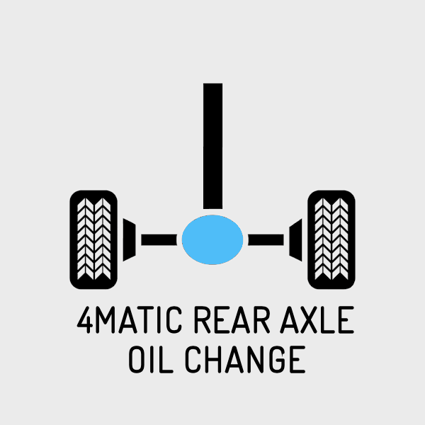 4Matic Rear Axle / Final Drive Differential Oil Change