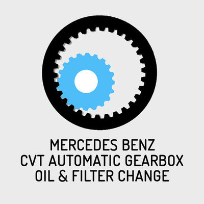 Mercedes CVT Automatic Gearbox Oil & Filter Change