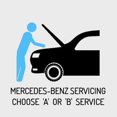 Mercedes-Benz SLK [R171] 2004–2010 Servicing - Choose A or B