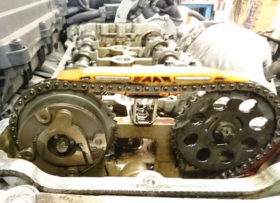 Mini Cooper N14 Engine Timing Chain Tensioner Replacement