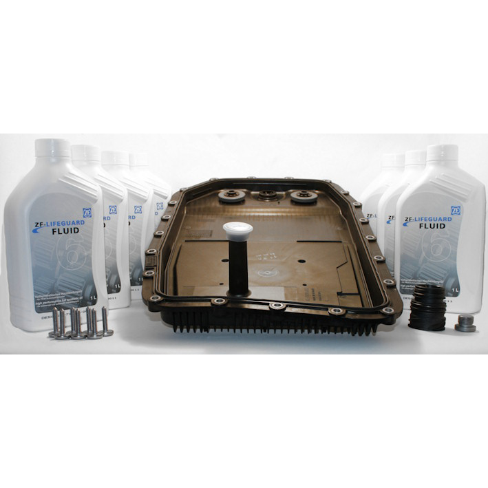 Gearbox Oil Change for Audi 8 Speed Tiptronic Quattro Models