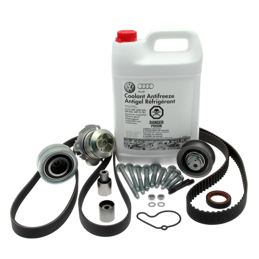 VW Timing Belt (& Optional Water Pump) Replacement - Diesel Engines