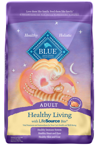 Blue Buffalo BLUE Healthy Living Adult Chicken and Brown Rice Recipe Dry Cat Food