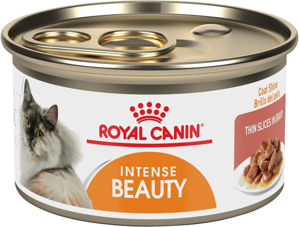 Royal Canin Intense Beauty Thin Slices in Gravy Canned Cat Food