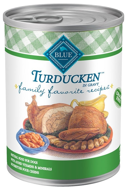 Blue Buffalo Family Favorites Turducken Canned Dog Food