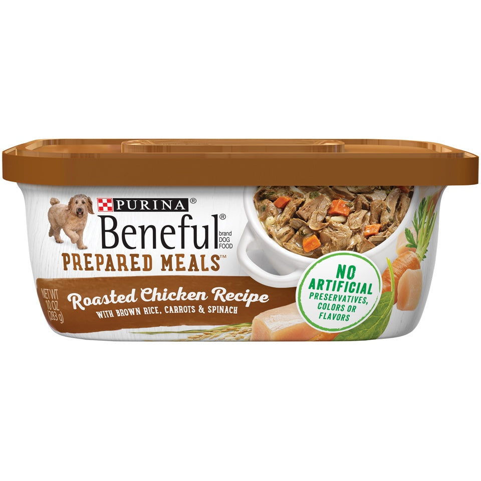 Beneful Prepared Meals Roasted Chicken Wet Dog Food