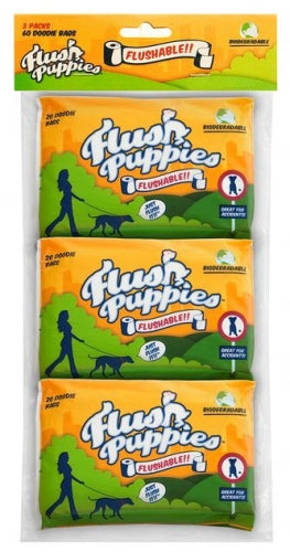 Flush Puppies Wallet Pack Waste Bags