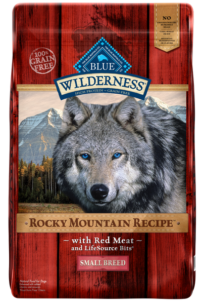 Blue Buffalo BLUE Wilderness Rocky Mountain Recipe Small Breed Red Meat Dry Dog Food