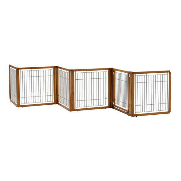 Richell Convertible Elite 6 Panel Pet Gate