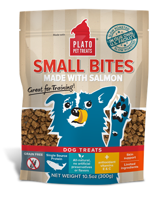 Plato Grain Free Slow Roasted Salmon Dog Treats