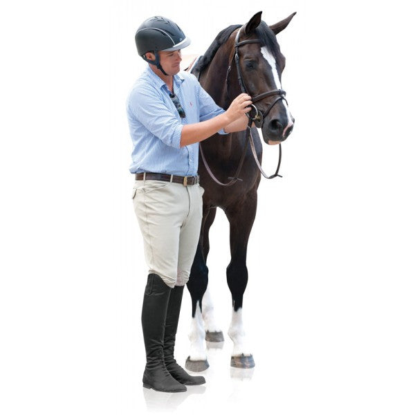 Ovation® EuroWeave™ Front Zip Knee Patch Breeches
