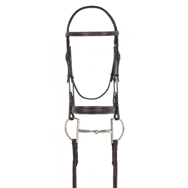 Flat Wide Nose Padded Bridle