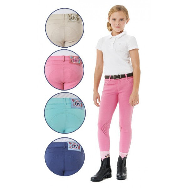 Ovation® Silicone Front Zip Knee Patch Breech