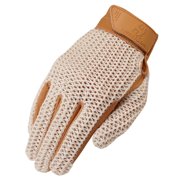 Heritage Crochet Riding Glove