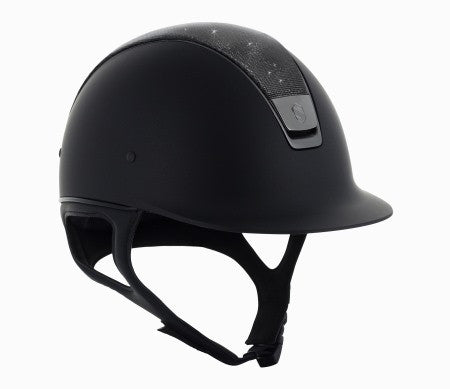 Samshield Shadow Matt Shimmer Leather Top Helmet