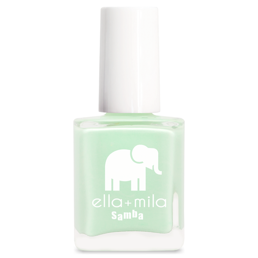 Ella + Mila Limeade Colour Nail Polish Vegan Friendly