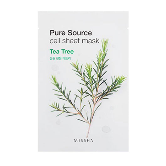 Missha Pure Source Cell Sheet Mask Tea Tree