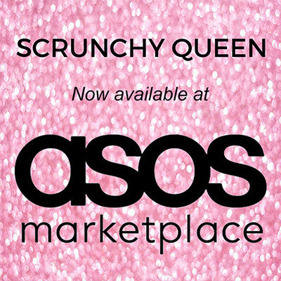 Scrunchy Queen now available at ASOS Marketplace