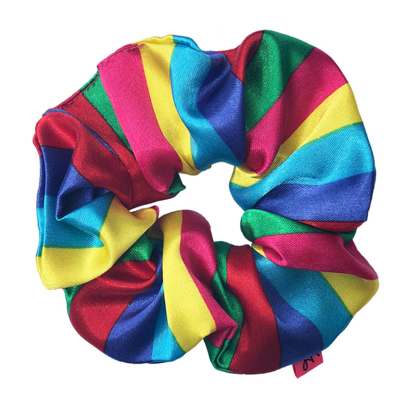 Rainbow Hair Scrunchie - Scrunchy Queen