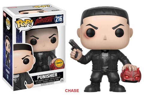 Daredevil Punisher Pop! Vinyl Figure - Chase Edition