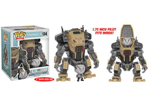 Titanfall 2 Blisk Pop! Vinyl Figure and Legion Titan Vehicle