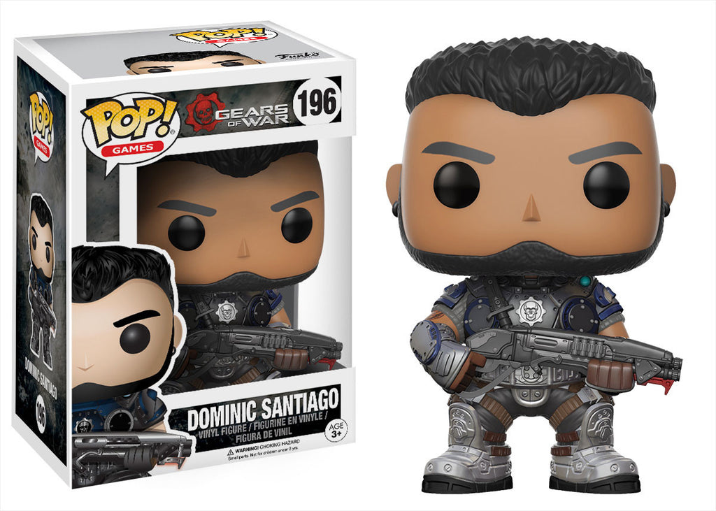 Gears of War Dominic Santiago Pop! Vinyl Figure  [Pre-order]
