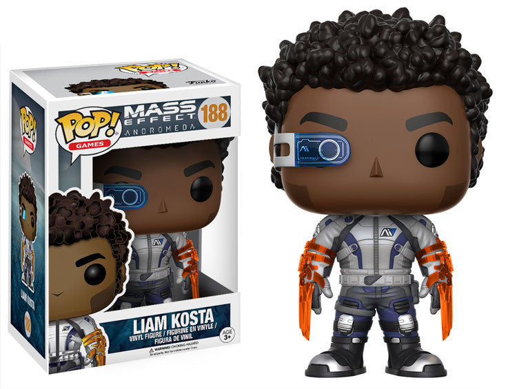 POP! Games: Mass Effect Andromeda: Liam Kosta