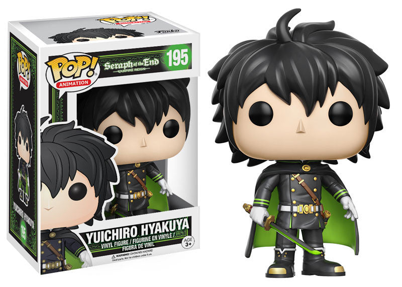 Seraph of the End Yuichiro Pop! Vinyl Figure #195