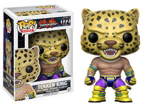 POP! Games: Tekken King