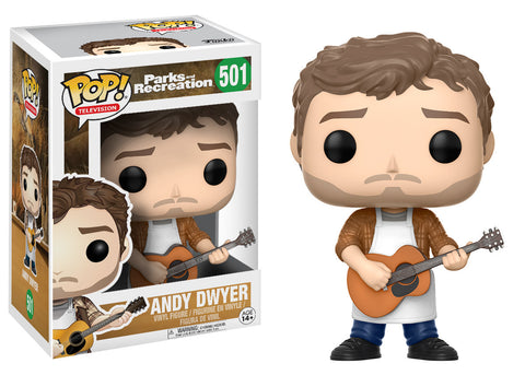Parks and Recreation Andy Dwyer Pop! Vinyl Figure #501 [Pre-order]