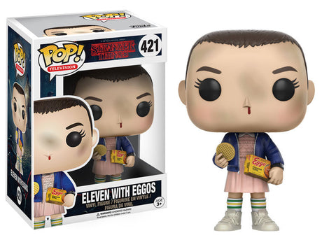 Stranger Things Eleven with Eggos Pop! Vinyl Figure [Pre-order]