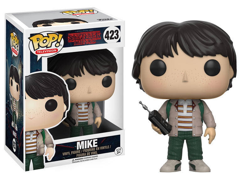 Stranger Things Mike with Walkie Talkie Pop! Vinyl Figure [Pre-order]
