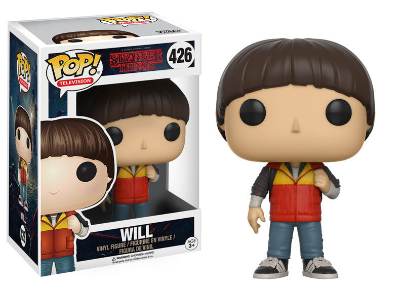 Stranger Things Will Pop! Vinyl Figure [Pre-order]